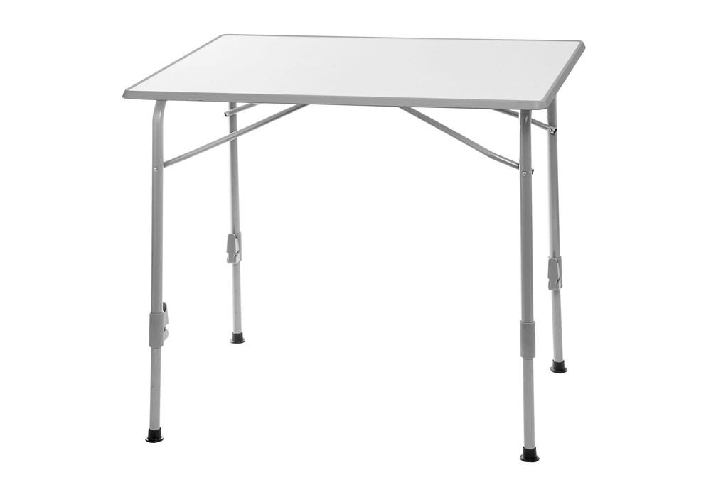 brunner linear 2 wpf camping tafel grijs wit l onze beste