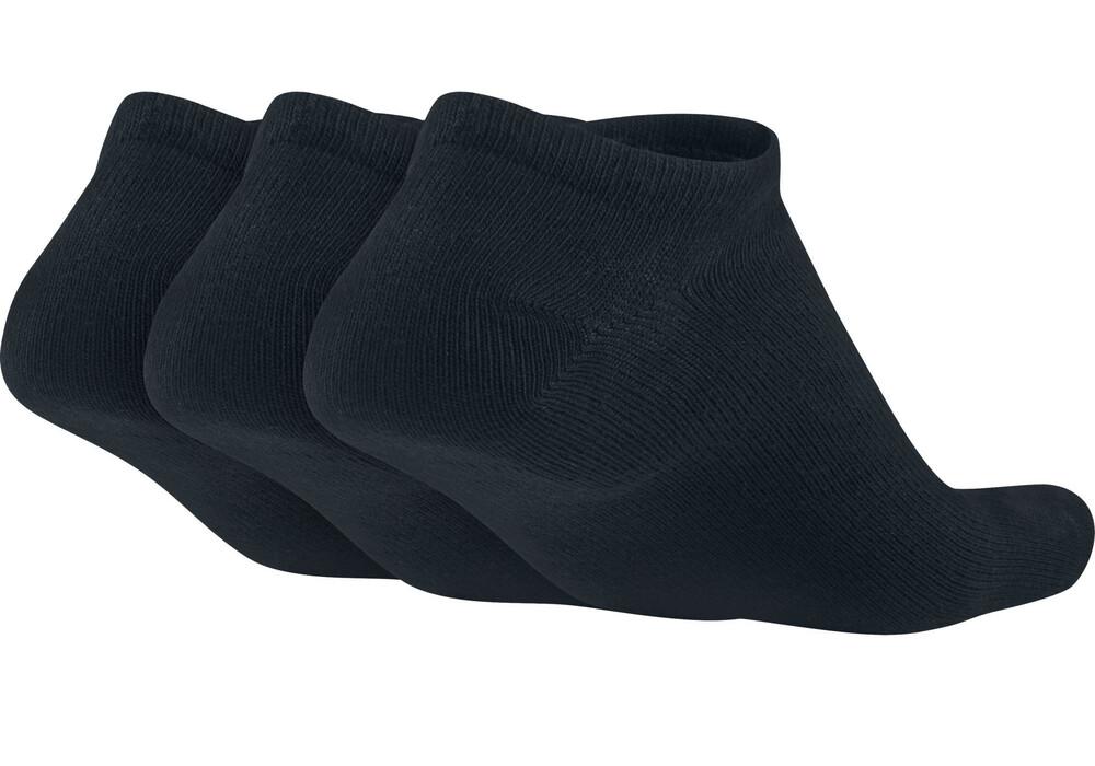 nike value no show 3ppk socks black white g nstig kaufen. Black Bedroom Furniture Sets. Home Design Ideas