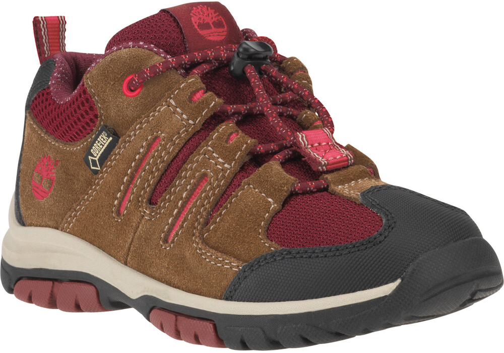 timberland zip trail chaussures enfant gtx beige rouge sur. Black Bedroom Furniture Sets. Home Design Ideas