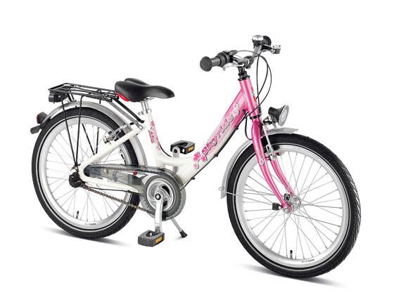 Skyride 20-3 Kinderrad Aluminium weiß/pink Kinderfahrräder