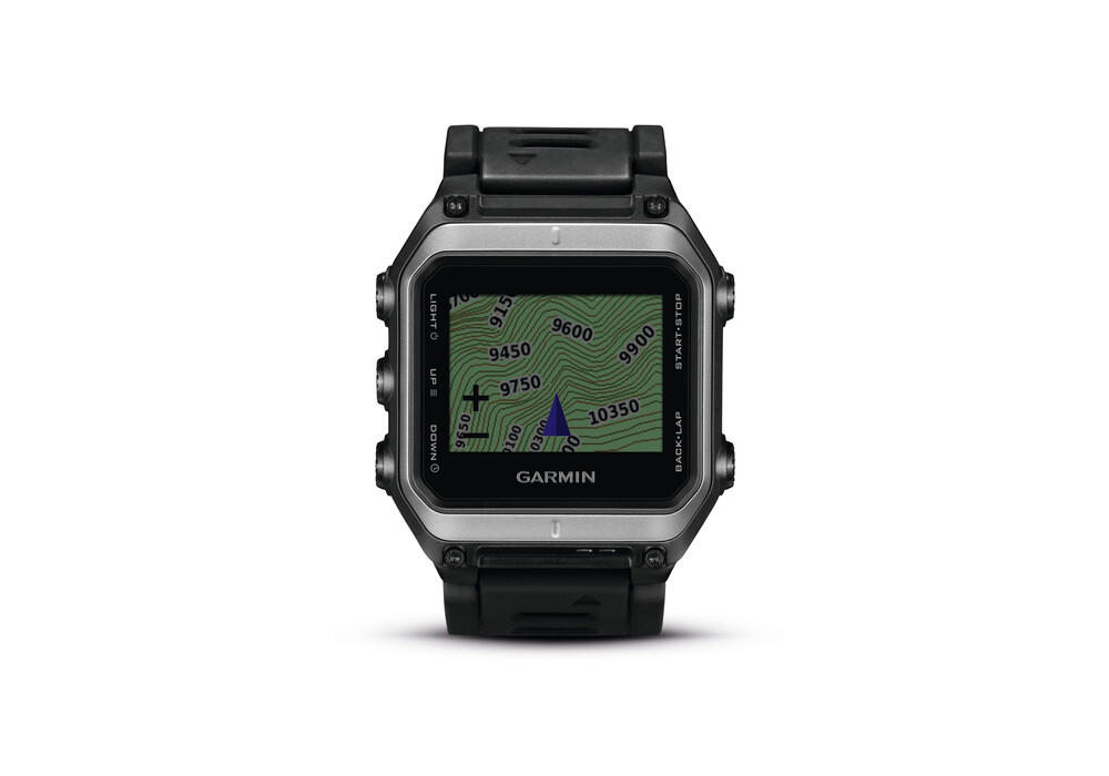 garmin epix gps outdoor uhr schwarz. Black Bedroom Furniture Sets. Home Design Ideas