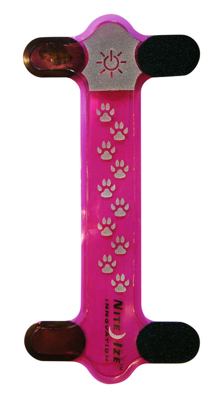 Nite Ize NiteDawg Collar Cover pink 2016 Tierbedarf