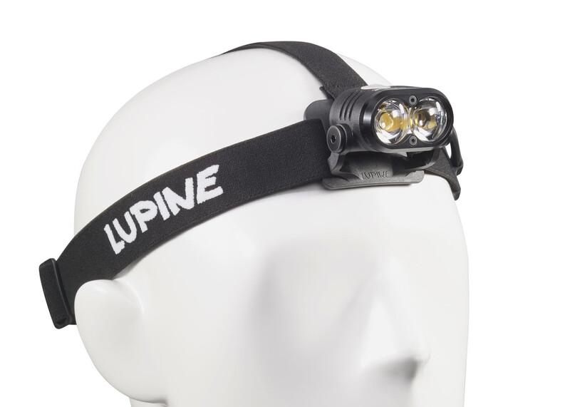 Lupine Piko X Duo Stirnlampe schwarz 2017 Stirnlampen