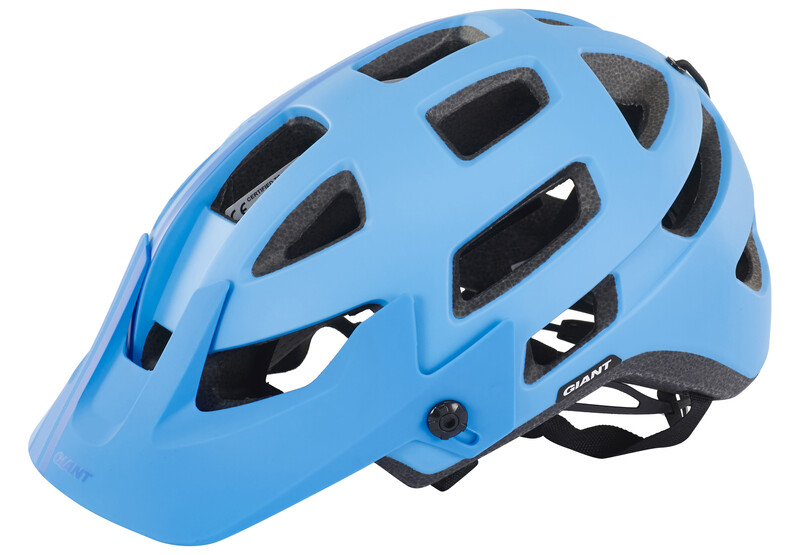 Giant Rail Helmet cyan/blue western 59-63 cm 2017 Fahrradhelme, Gr. 59-63 cm