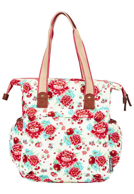 Bloom Shopper gardenia white 2017 Gepäckträgertaschen
