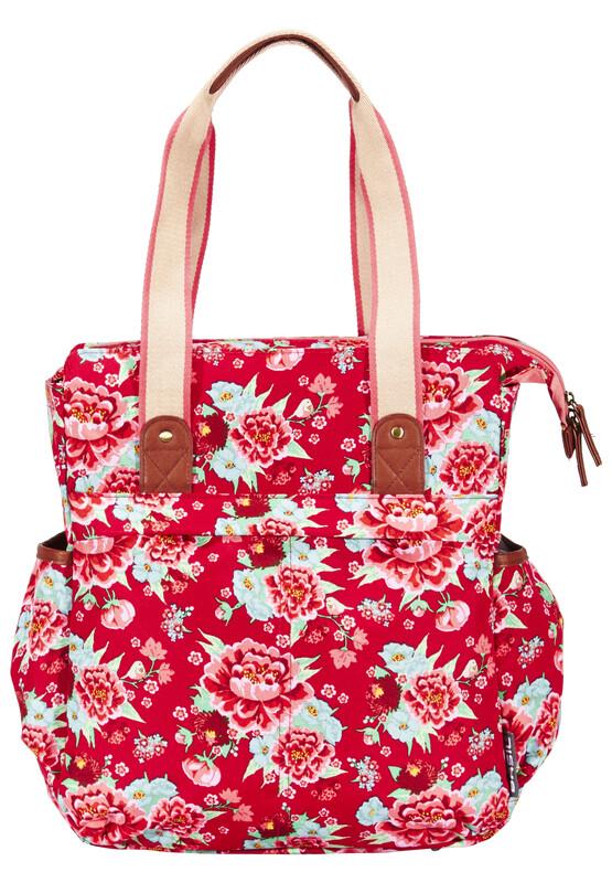 Bloom Shopper scarlet red 2017 Gepäckträgertaschen
