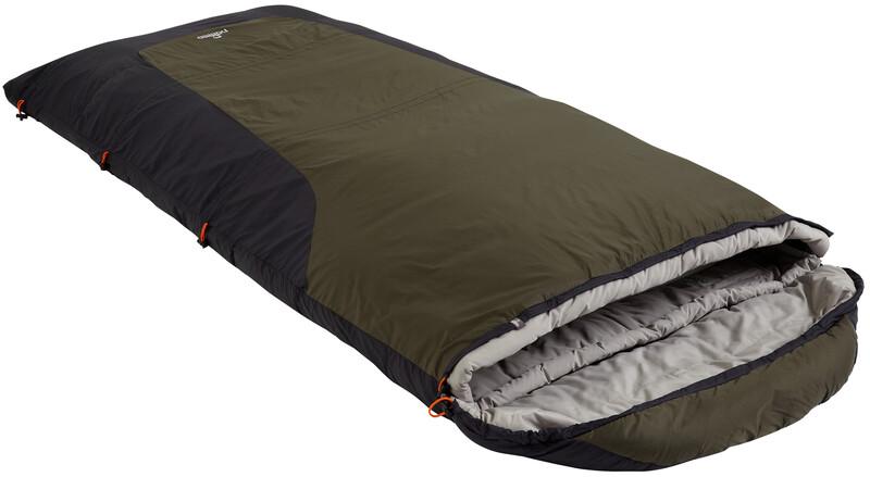 Nomad Triple-S XL Sleepingbag Charcoal/Whale 2017 Deckenschlafsäcke, Gr. links