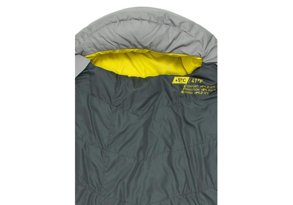 lafuma mix warm 0 sac de couchage gris sur. Black Bedroom Furniture Sets. Home Design Ideas