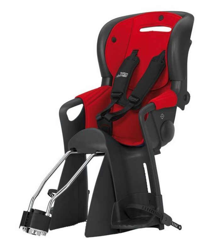 Römer Britax Jockey Comfort Kindersitz rot/blau 2017 Kindersitz-Systeme