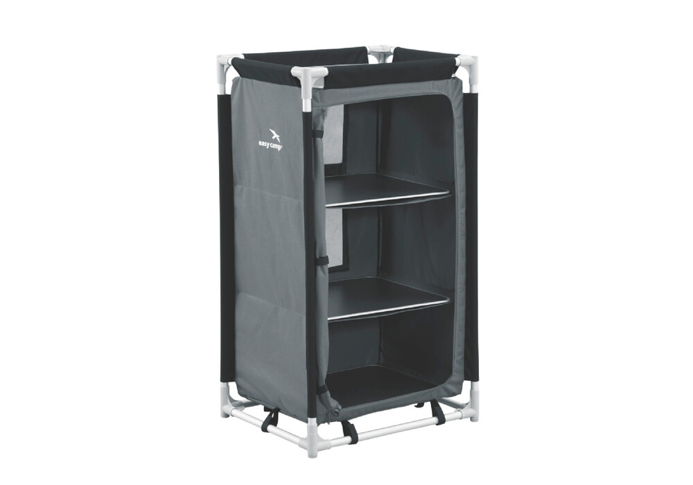 easy camp libra armoire de camping gris noir sur campz. Black Bedroom Furniture Sets. Home Design Ideas