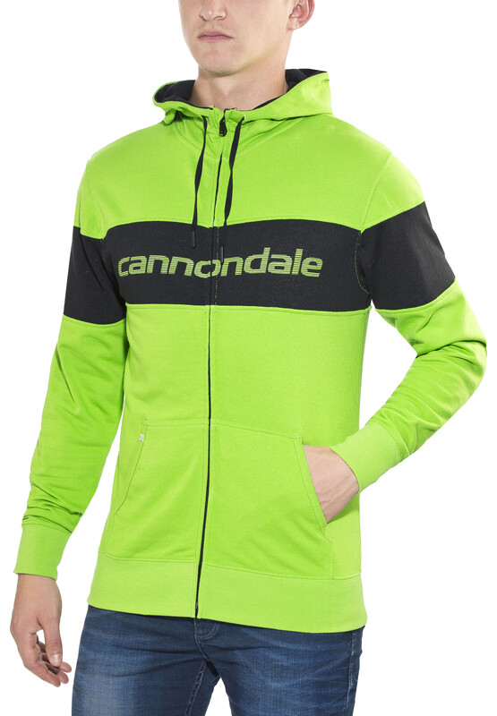 Sugoi Cannondale Hoodie Men cannondale green XL 2017 Streetwear, Gr. XL
