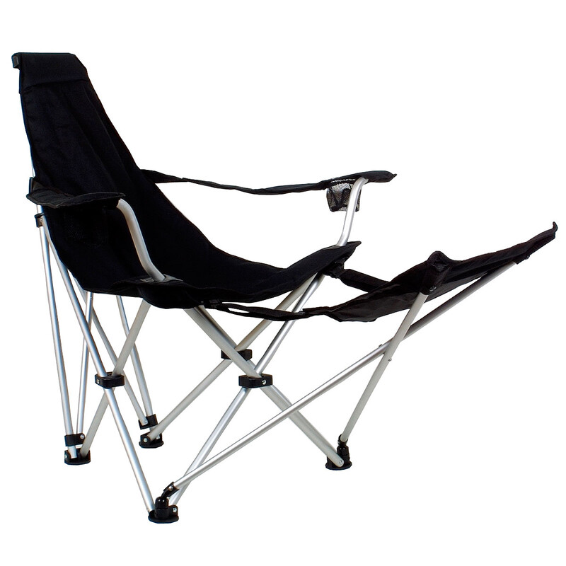 Travelchair SunChair schwarz Campingstühle
