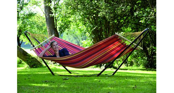 amazonas beach set h ngematte und gestell. Black Bedroom Furniture Sets. Home Design Ideas