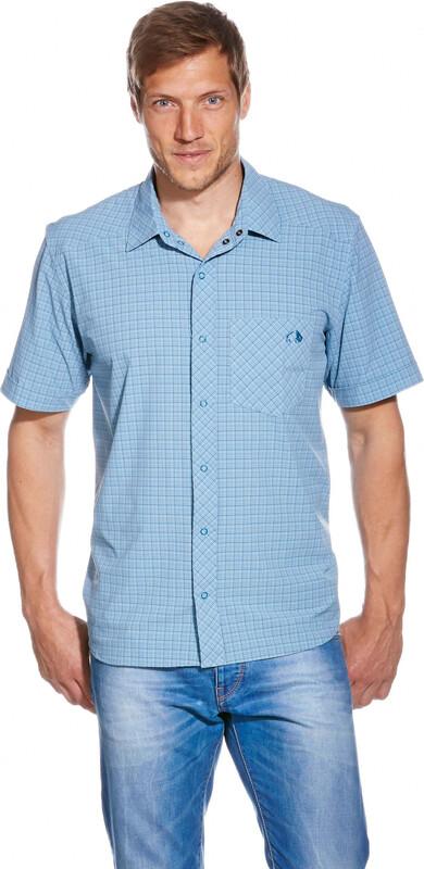 Tatonka Jonne SS-Shirt Men sea blue S 2017 Kurzarmshirts, Gr. S