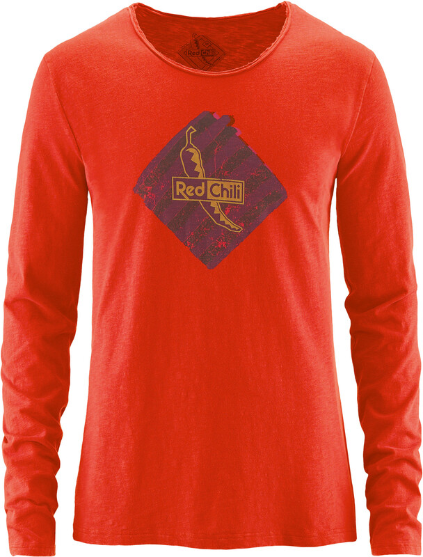 Red Chili Half Dome 17 Shirt men longsleeve fire M 2017 Langarmshirts, Gr. M