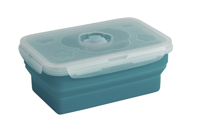 Collaps Food Box M blue Vorratsdosen