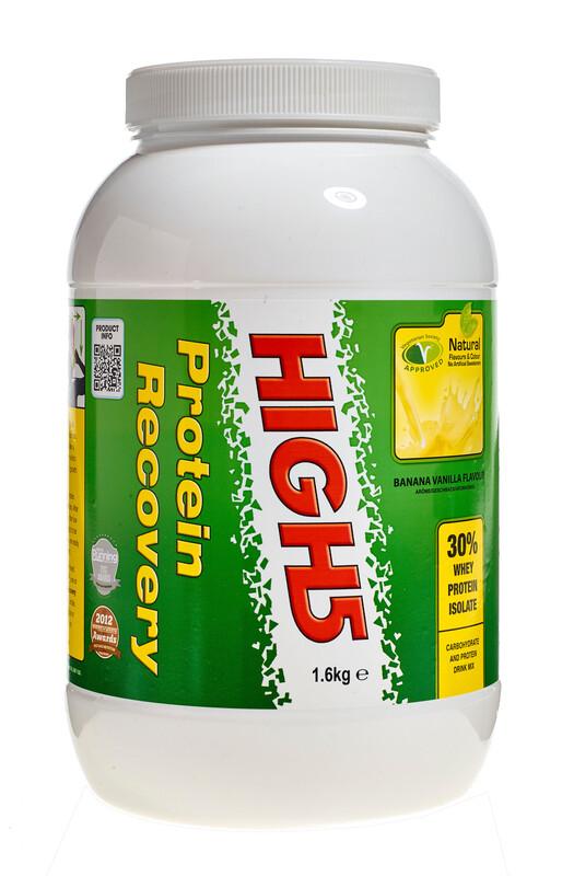 High5 Protein Recovery Drink Banana-Vanilla 1,6kg 2017 Nahrungsergänzung
