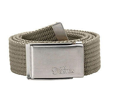 Fjällräven Merano Canvas Belt light khaki Accessoires~outdoor~bekleidung~outdoorbekleidung~Outdoor gürtel