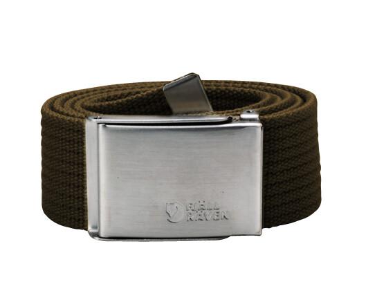 Fjällräven Canvas Belt dark olive Accessoires~outdoor~bekleidung~outdoorbekleidung~Outdoor gürtel