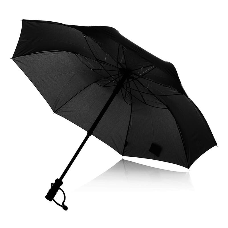 teleScope handsfree Regenschirm schwarz Regenschirme