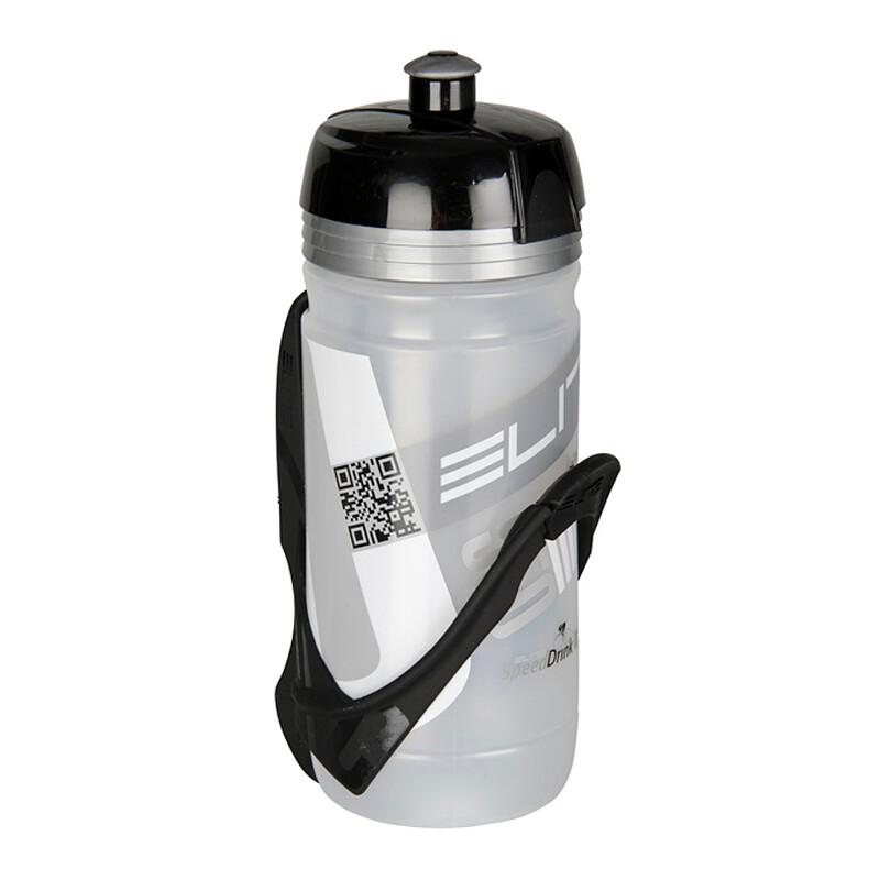 Corsa Cannibal Trinkflasche & Halter 550 ml schwarz/clear Flaschen & Halter