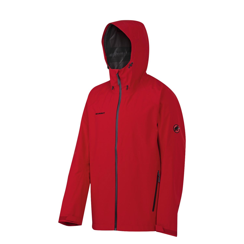 Mammut Juho Jacket Men inferno-graphite L jacke~oberteil~Bekleidung~Outdoor~outdoorjacke~outdoorbekleidung~hardshelljacke~hardshell jacke