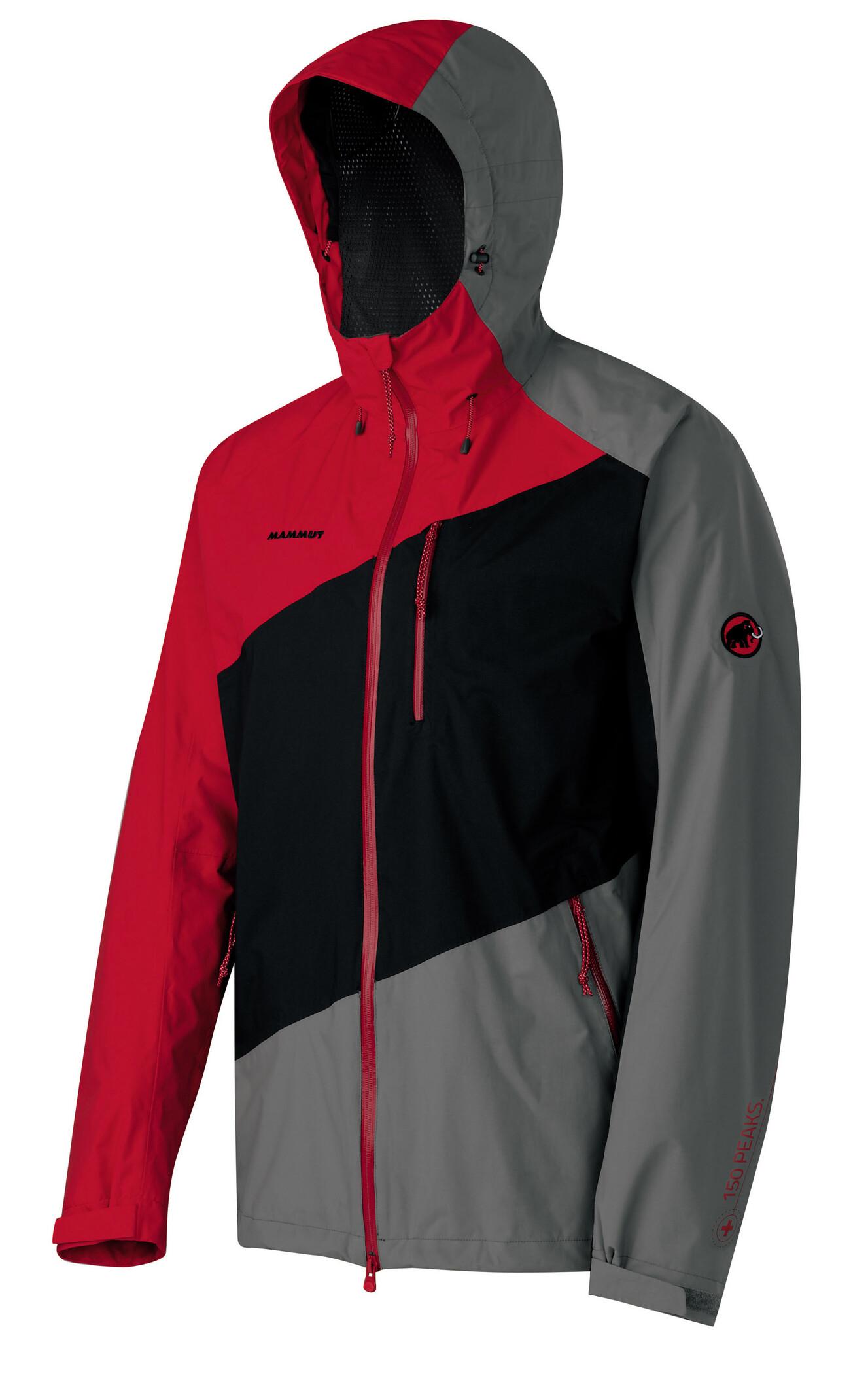 Mammut Keele Jacket Men black-inferno - Auslaufware XL jacke~oberteil~Bekleidung~Outdoor~outdoorjacke~outdoorbekleidung~hardshelljacke~hardshell jacke