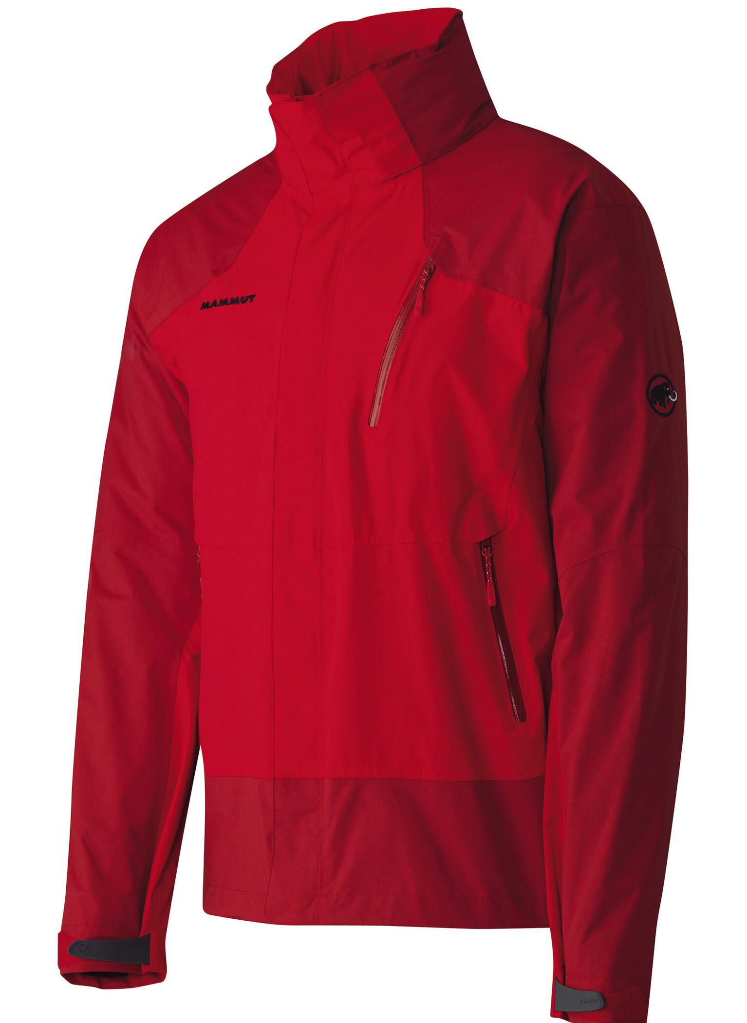 Mammut Kinabalu Jacket Men inferno-dark inferno - Auslaufware S jacke~oberteil~Bekleidung~Outdoor~outdoorjacke~outdoorbekleidung~hardshelljacke~hardshell jacke