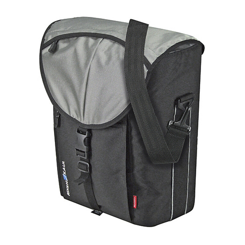 Cita GTA Gepäckträgertasche schwarz/silber Gepäckträgertaschen