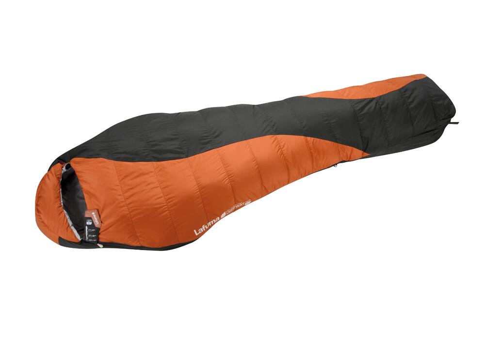 lafuma lightway 35 sac de couchage momie orange noir. Black Bedroom Furniture Sets. Home Design Ideas