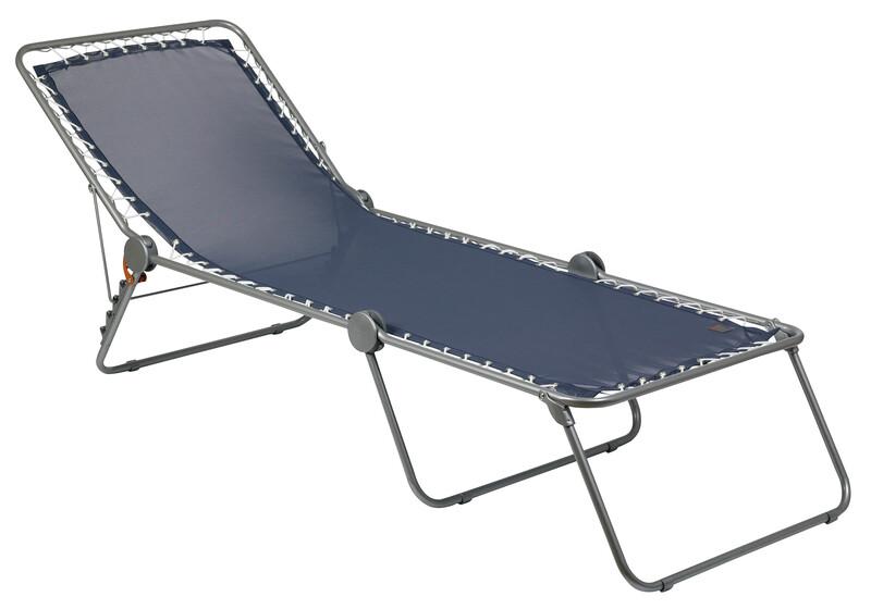 SIESTA L Liege Classic Batyline océan Campingbetten & -liegen