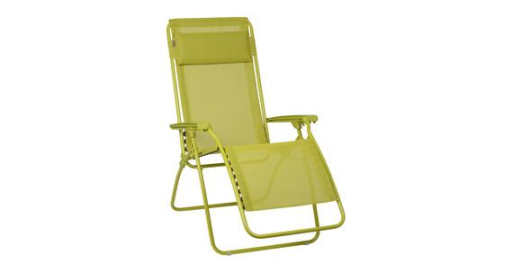 lafuma r clip chaise pliante avec batyline vert sur. Black Bedroom Furniture Sets. Home Design Ideas