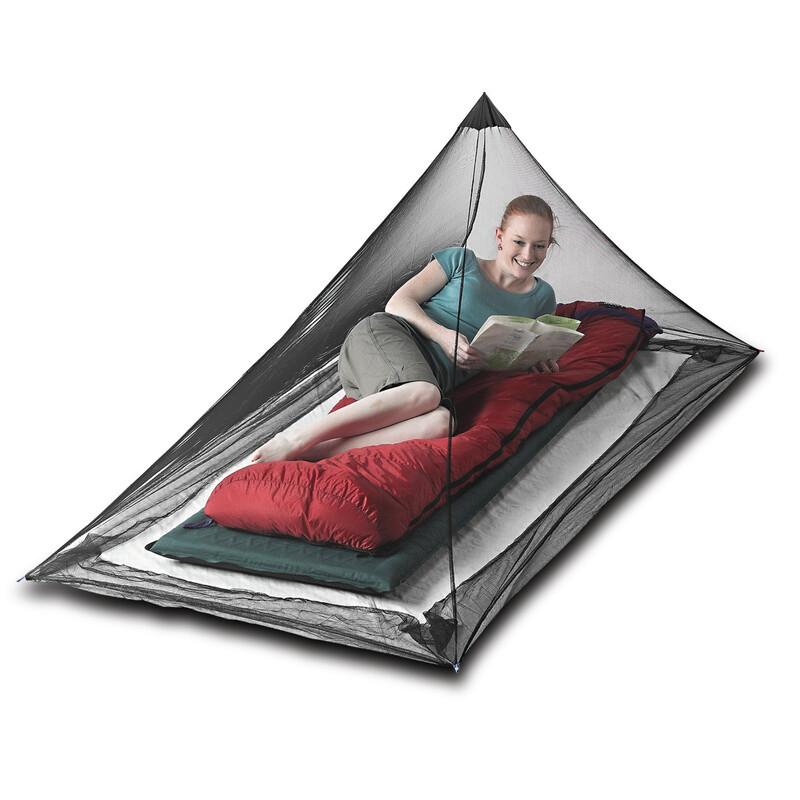 Mosquito Pyramid Net Single Moskitonetze