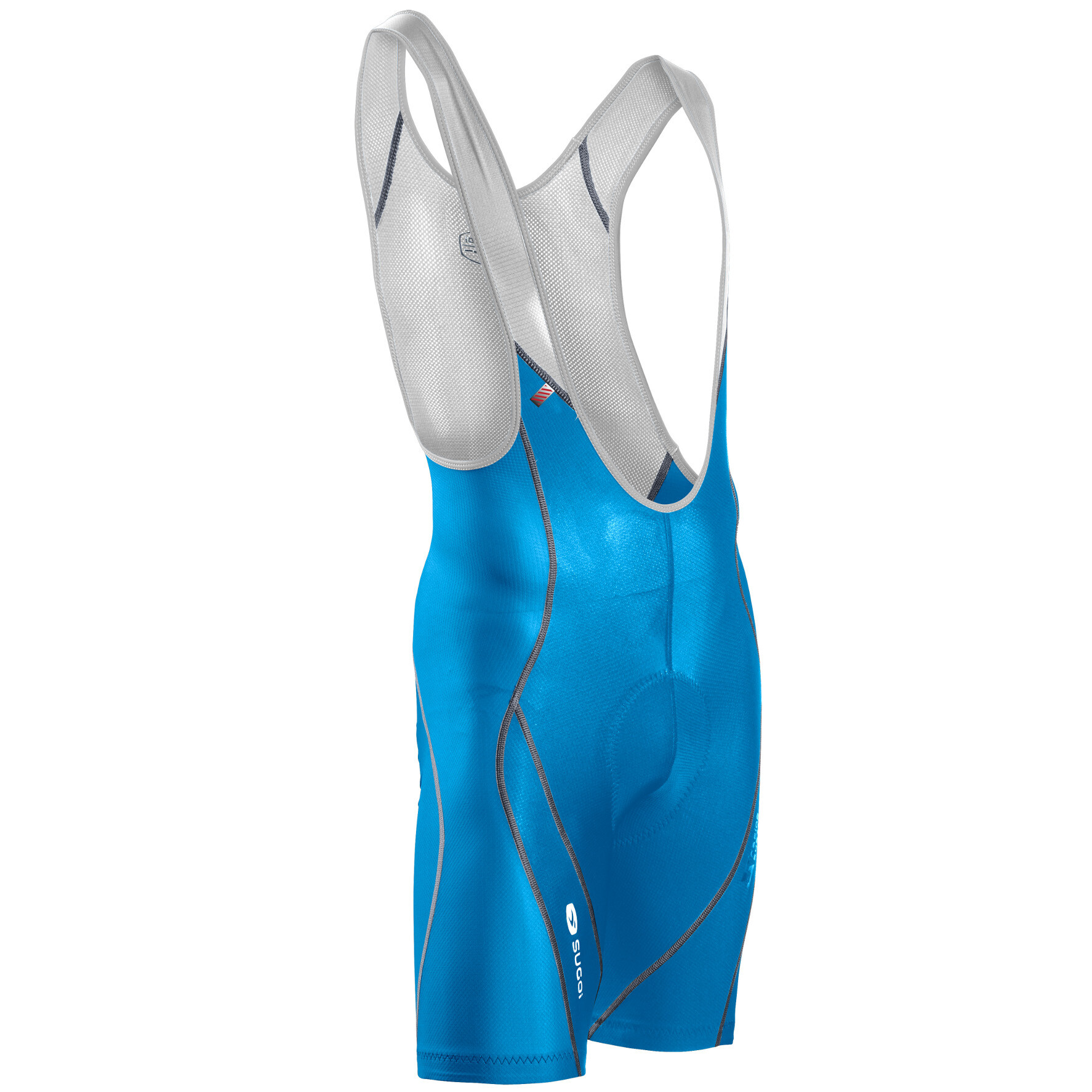 Sugoi Men's RS Bib Short cyan