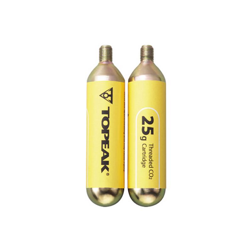CO2-Kartuschen mit Gewinde 2er Set Zubehör Pumpen