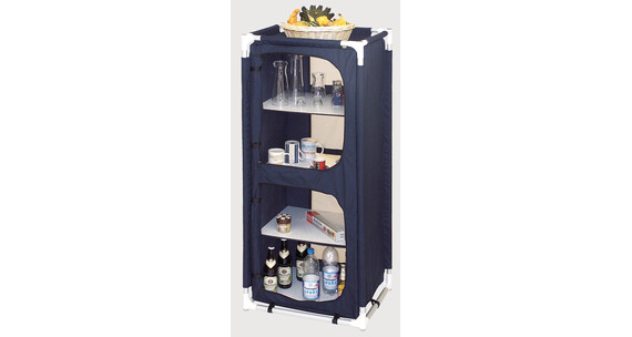 bel sol armoire provisions h 140 bleue sur. Black Bedroom Furniture Sets. Home Design Ideas