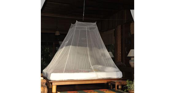 cocoon moustiquaire pour lit deux personnes blanc sur. Black Bedroom Furniture Sets. Home Design Ideas