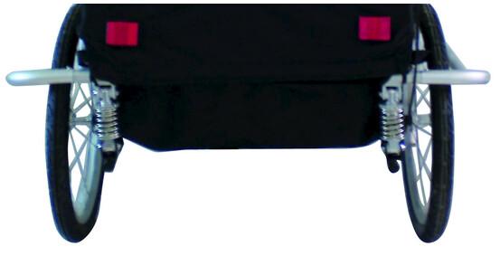 m wave alu kinder und gep ck fahrradanh nger gefedert 20. Black Bedroom Furniture Sets. Home Design Ideas