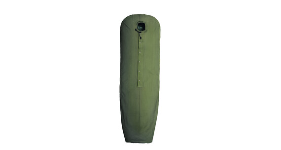 Nordisk sleeping bag saco de vivac cotton verde - Funda vivac salewa ...
