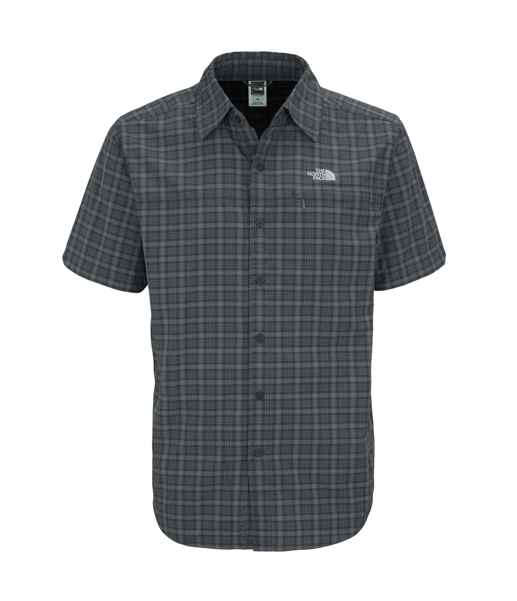 The North Face Men's S/S Ventilation Shirt asphalt grey 2013 M grau Outdoorbekleidung Outdoor Hemd Kurzarm Hemd M