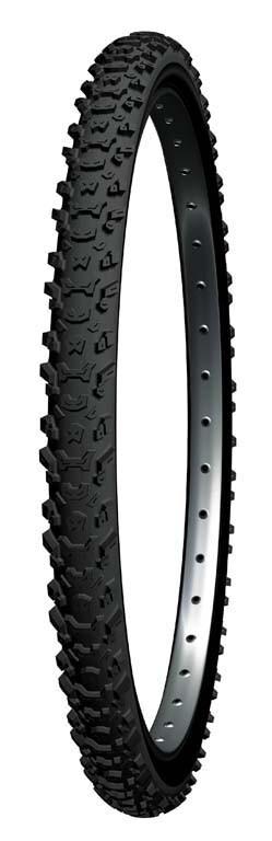 Michelin Country Mud Fahrradreifen 26 x 2.0 Draht schwarz MTB Reifen 47-559   26 x 2.00 FA003464012