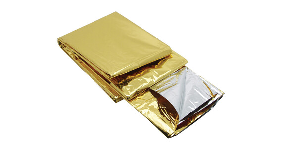 baladeo rettungsdecke 2 seiten silber gold g nstig kaufen. Black Bedroom Furniture Sets. Home Design Ideas