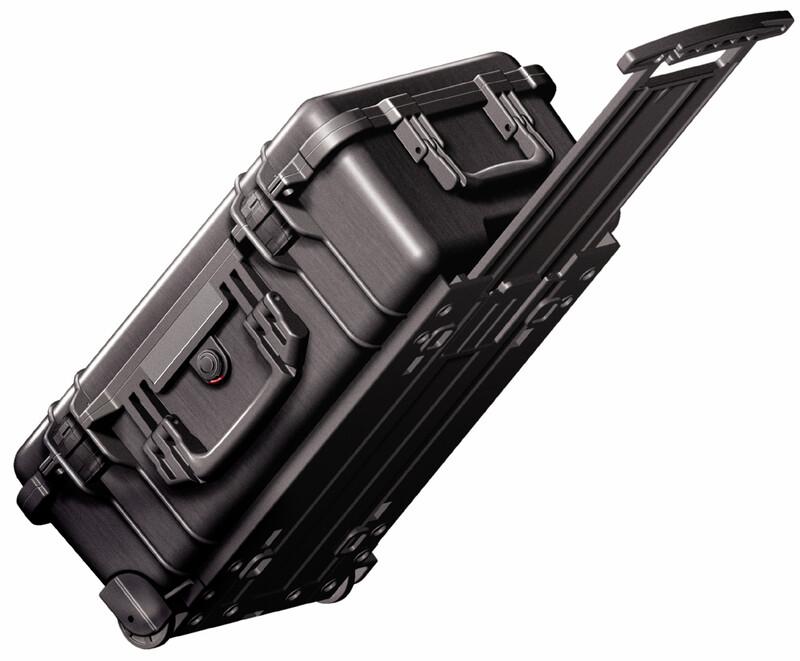 Peli Flightcase 1510 mit Schaum 2017 Plastikboxen