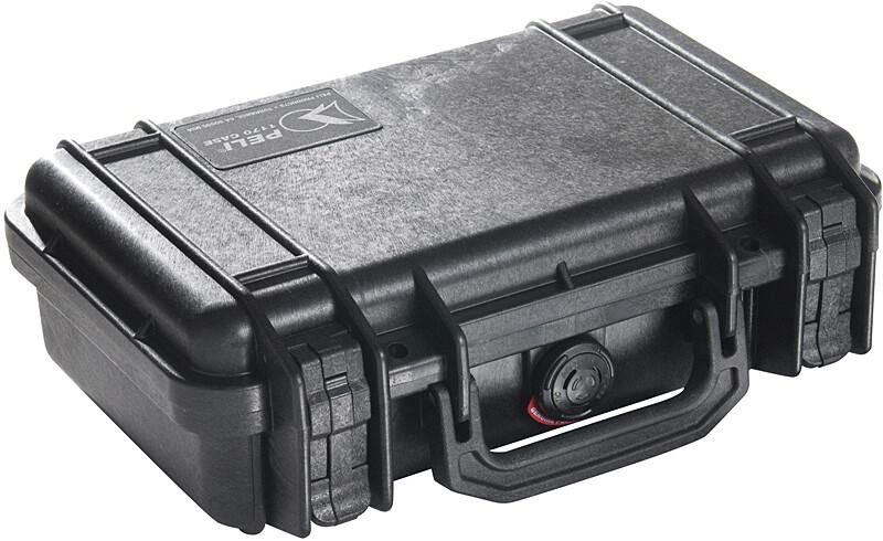 Pelibox 1170 mit Schaumeinsatz schwarz Campingboxen