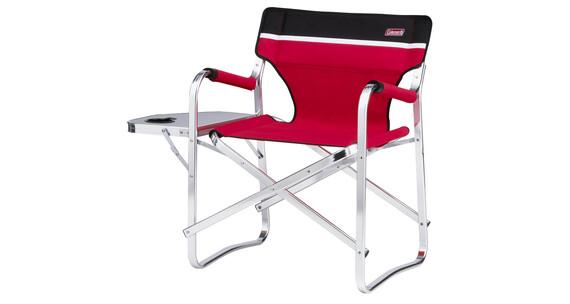Coleman si ge de camping deck chair avec table sur - Table camping pliante avec siege ...