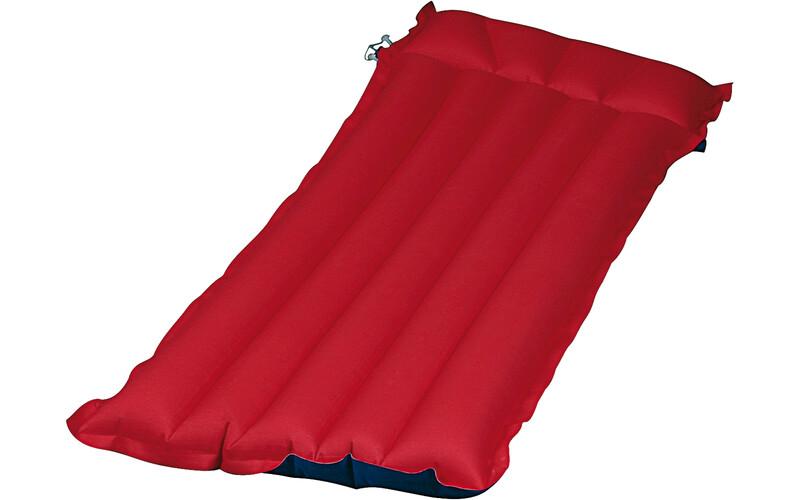 Gewebe Luftmatratze rot-blau Luftmatratzen