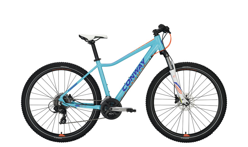 Conway MQ 427 Damen blue/orange 40cm 2017 Mountainbikes, Gr. 40cm
