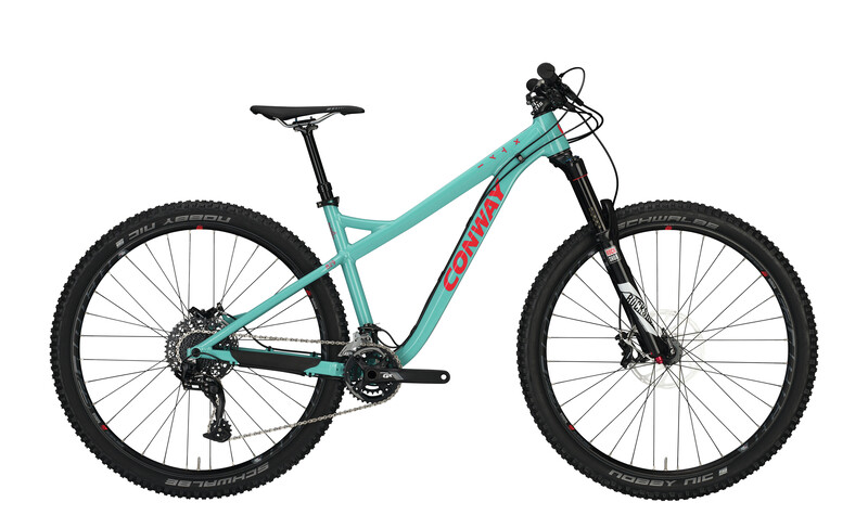 Conway MT 829 Herren turquoise/red 48cm 2017 Mountainbikes, Gr. 48cm
