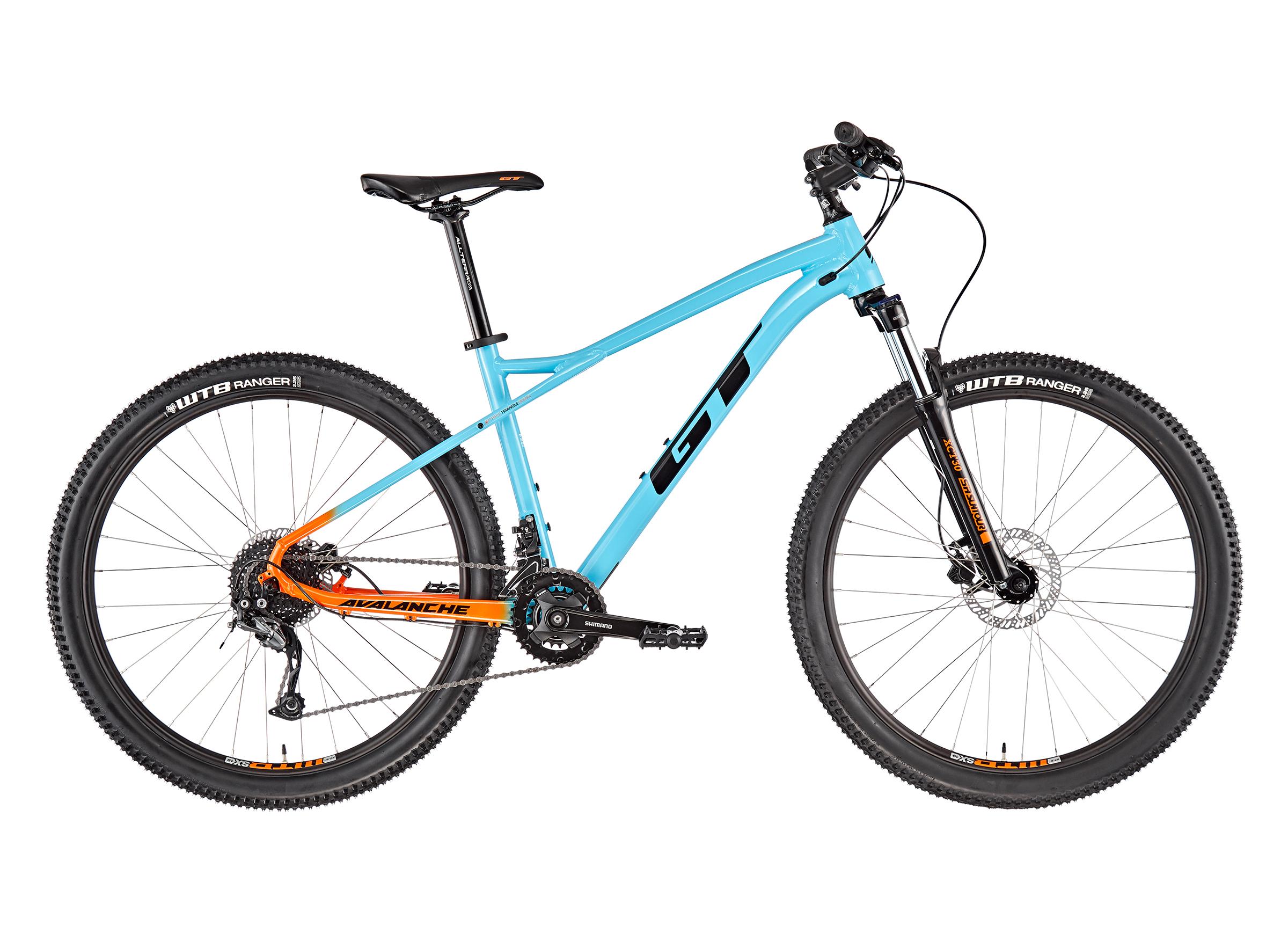 "GT Bicycles Avalanche Sport 27.5"" gloss aqua blue"