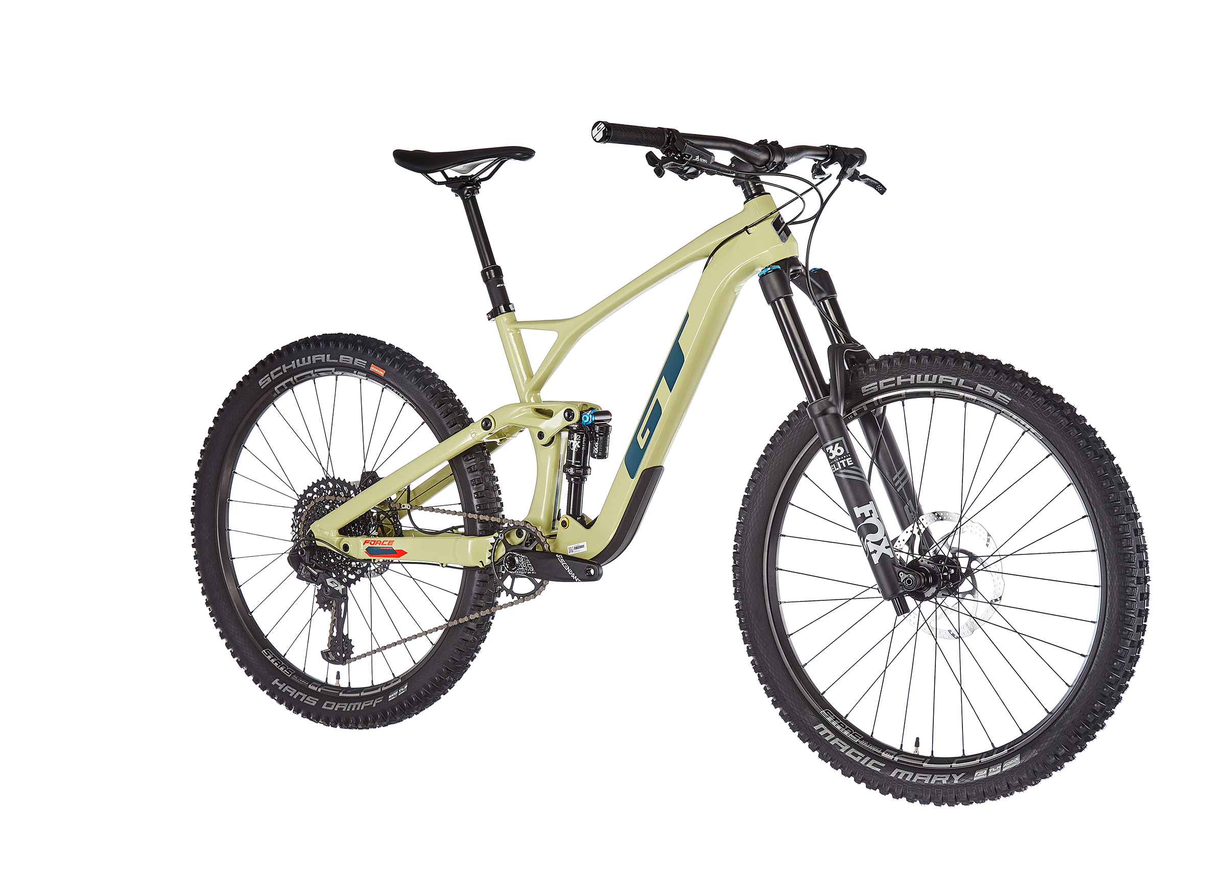 """GT Bicycles Force Carbon Expert 27.5"""" gloss moss"""